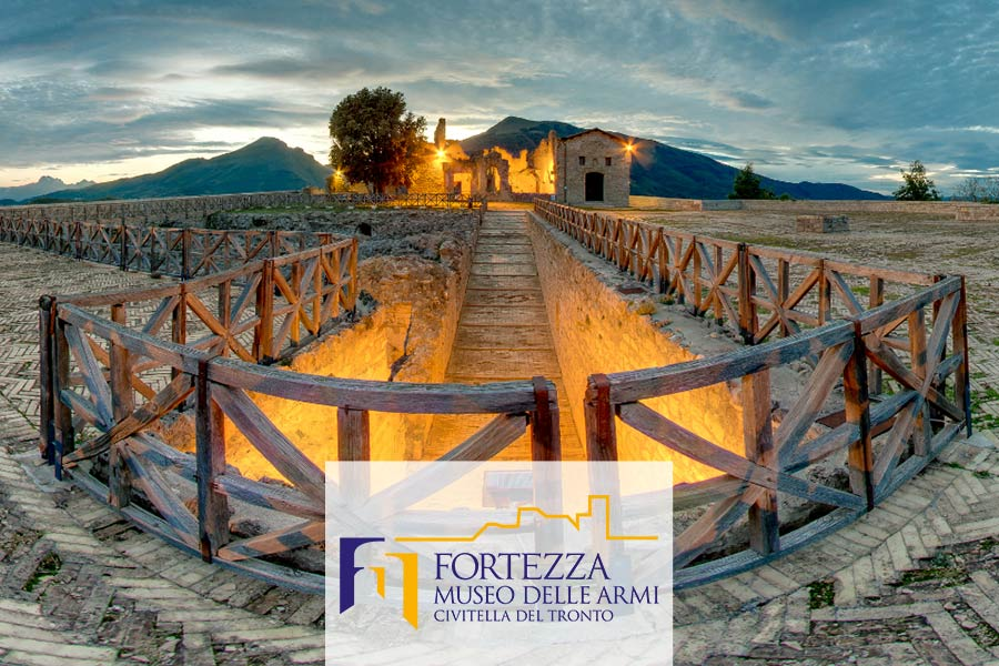 Virtual Tour Fortezza di Civitella del Tronto